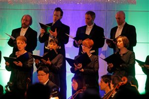 Singing with the Vancouver Chamber Choir 2010