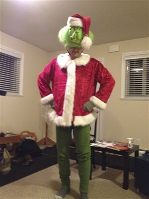 Grant Wutzke as the Grinch, PCC 2013